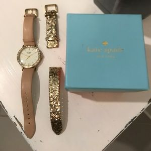 Kate Spade Watch and second band